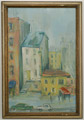 C. Moses Show Place, Oil on Board